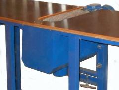 Одностронний шлифовальный станок с лепестковым барабаном СВАРОГ 1-300
