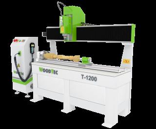 Токарно-фрезерный станок с ЧПУ WoodTec T-1200