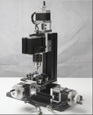 Настольный сверлильный станок с ЧПУ по металлу MMD-CNC