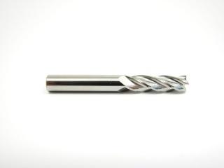 Фреза концевая cпиральная трехзаходная по алюминию, меди, латуни AL3LX03