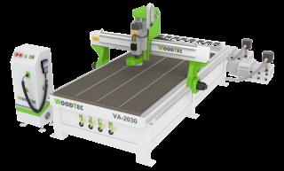Фрезерно-гравировальный станок с ЧПУ с автоматический сменой инструмента Woodtec VA-2030