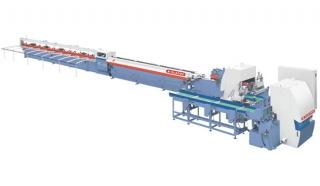 Автоматическая линия сращивания древесины FL-03