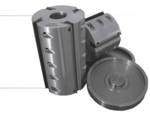 Фреза фуговальная «Механик» с механическим креплением ножей из инструментальной стали
