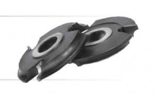 Фреза, напаянная твердым сплавом, для обработки полуштапов и штапов