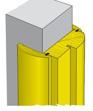 Фрезы для элементов дверной коробки 1Д-06
