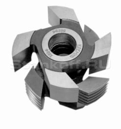 Фрезы для обработки микрошипов для сращивания древесины с напайными пластинами Р6М5 ДФ-15.01.12