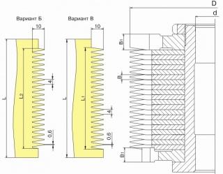 Фрезы для обработки шипов для сращивания древесины ДФ-25.00 Б, ДФ-25.00 В
