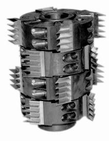Фрезы сборные для обработки шипов для сращивания древесины ДФ-24.05 А