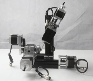 Настольный фрезерный мини станок с ЧПУ по металлу MMM-CNC5