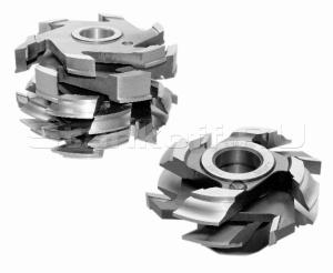 Комплект фрез для изготовления арочных дверей с остеклением (с термошвом) ДФ-04.08 (остекление), ДФ-04.09 (остекление)