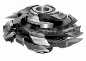Комплект фрез для изготовления арочных дверей (с термошвом) ДФ-04.21А