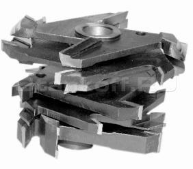 Комплект фрез для изготовления дверей с остеклением ДФ-04.13А