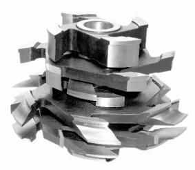 Комплект фрез для изготовления дверей с остеклением (с термошвом) ДФ-04.44