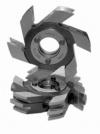 Комплект фрез для изготовления обшивочной доски (вагонки) ДФ-14.73, ДФ-14.74, ДФ-14.63/2