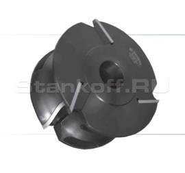 Комплект фрез с механическим креплением ножей из быстрорежущей инструментальной стали, для изготовления поручня и обработки контура подоконника