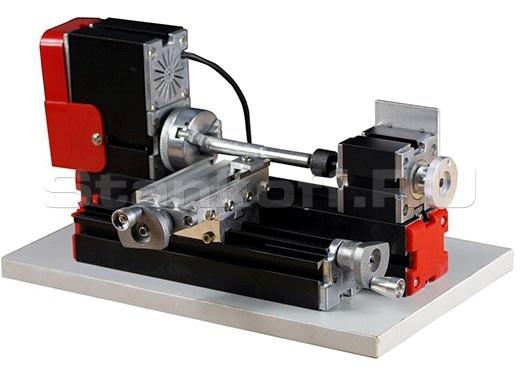Мини-станок токарный модульный по металлу MML-50