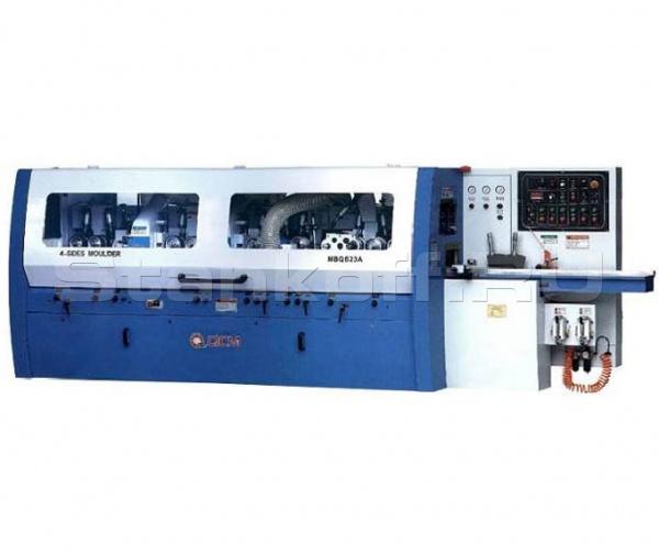 Станок четырехсторонний продольно-фрезерный 6-ти шпиндельный MBQ623A