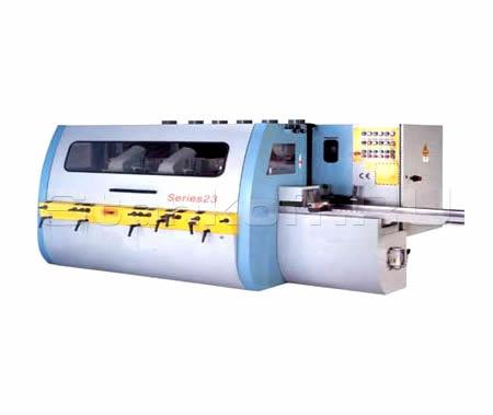 Четырехсторонний станок для погонажа и бруса МВ 4023x7U