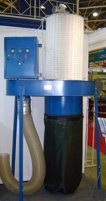 Пылеулавливающая установка для шлифовальных станков ПФЦ-2000КР-1