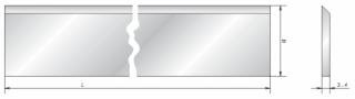 Ножи фуговальные Микрон