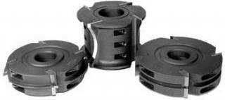 ПФ-10 комплект фрез для изготовления радиусной обшивочной доски блокхаус