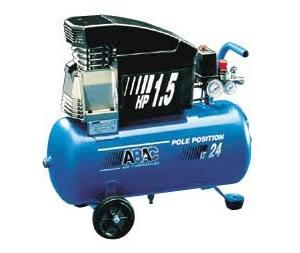 Поршневые компрессоры Pole Position 241 (катушка и рез. шланг 5 м)
