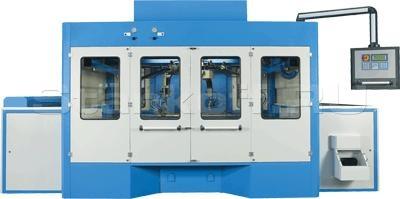 Автоматический окрасочный станок проходного типа с кареткой карусельного типа ROTOCLEAN G8