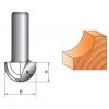Фреза фасонная сферическая галтельная для станка с ЧПУ NYDD620