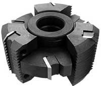 Ш 4-4 фрезы для поперечного сращивания с механическим креплением режущих пластин