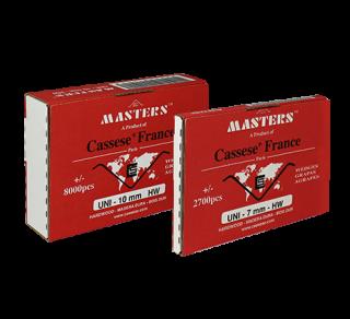 V-скобы Masters™ UNI 10 мм (8000 штук)