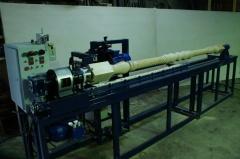 Станок токарно-фрезерный с копиром для производства витых каннелюр ТФС 2800К