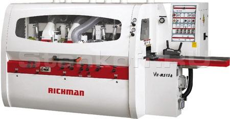 Четырехсторонний пятишпиндельный станок Richman VH-M512