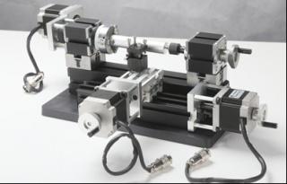 Настольный токарный мини станок с ЧПУ по металлу MML-CNC