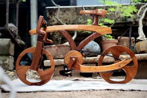 Деревянный велосипед для детей своими руками