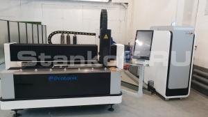 Запустили оптоволоконный лазерный станок LF1530 CN 2200 Вт Raycus в Туле