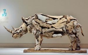Удивительные скульптуры животных из коряг за авторством Джеффро Уитто