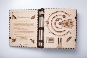 Книга с головоломками — классный DIY проект для лазерного станка