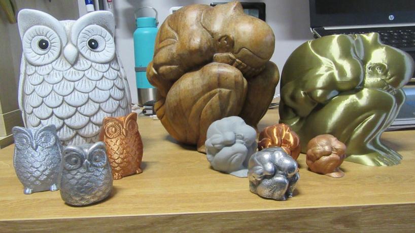 Создание металлических отливок с помощью напечатанных на 3D-принтере форм из PLA