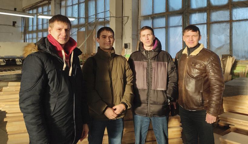 Компания «Станокофф.ру» посетила предприятие ООО «Меган»
