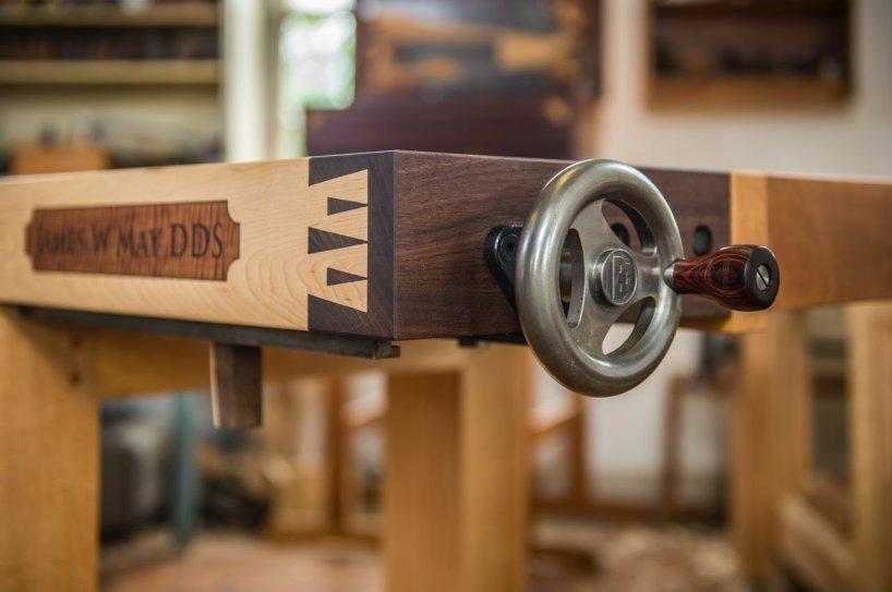 Шикарный столярный верстак Рубо