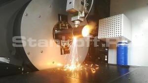 Запустили лазерный труборез по металлу LF60M/2000 Raycus в Москве