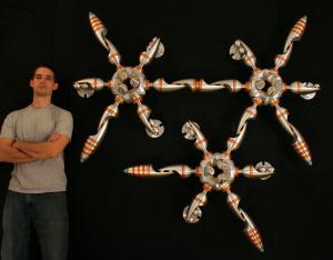 Художник по металлу: Крис Батгейт — удивительное искусство созданное на станках ЧПУ