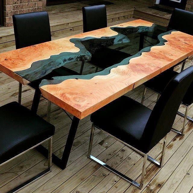 10 крутых деревянных столов - блог станкофф.ru.