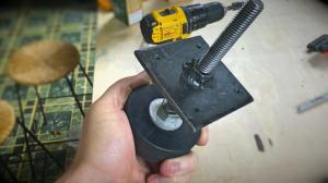 Как сделать виброопоры из резиновой хоккейной шайбы