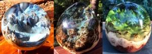 Чудесные геометрические скульптуры, созданные из капа и смолы