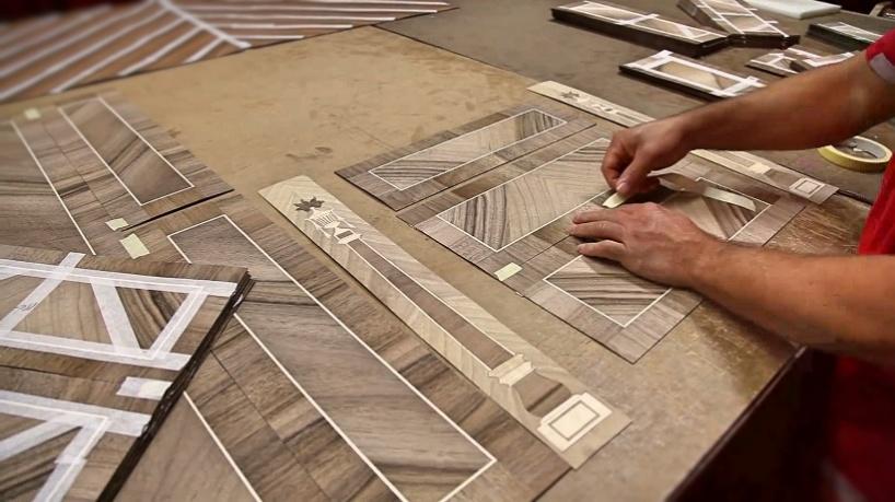 Как изготавливается эксклюзивная классическая мебель ручной работы