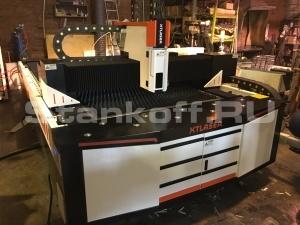Запустили станок оптоволоконной лазерной резки металла XTC-F1325 750W Raycus (XTLASER)