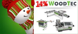 Шок-цены на мебельное оборудование WoodTec! Только до 31 декабря 2017!