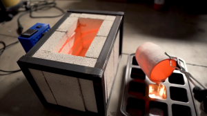 Электрическая печь для плавки металла своими руками