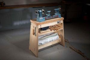 Стол-подставка для токарного станка своими руками